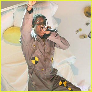 A$AP Rocky Performs Movie-Like Medley of 'A$AP Forever' & 'Distorted Records' on 'Fallon' - Watch Now!