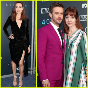 Aubrey Plaza & Dan Stevens Celebrate 'Legion' Season Two Premiere!