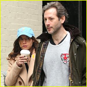 Aubrey Plaza Steps Out with Boyfriend Jeff Baena in NYC