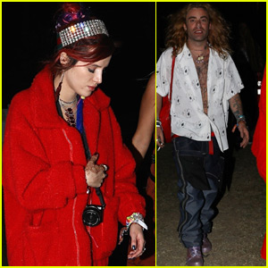 Bella Thorne Checks Out Coachella with Boyfriend Mod Sun!