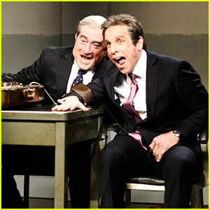 Ben Stiller & Robert De Niro Reunite for 'Meet the Parents' Cold Open on 'SNL' (Video)