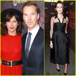 Benedict Cumberbatch & Allison Williams Step Out for 'Patrick Melrose' Premiere