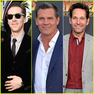 Benedict Cumberbatch, Josh Brolin, & Paul Rudd Assemble at 'Avengers: Infinity War' Premiere