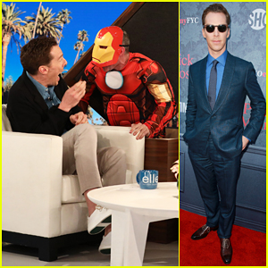 Benedict Cumberbatch Swears Twice After Getting Scared by Iron Man on 'Ellen'!