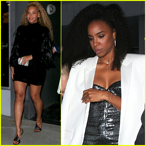 Beyonce & Kelly Rowland Step Out for DundasWorld Store Opening!