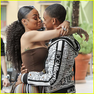 Blac Chyna & Boyfriend YBN Almighty Jay Pack on the PDA at Lashed Ladies Event in LA!