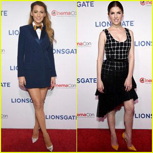 Blake Lively & Anna Kendrick Go Glam for 'A Simple Favor' Screening at CinemaCon 2018!