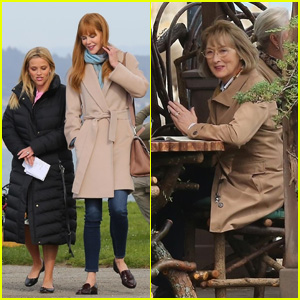 Reese Witherspoon, Nicole Kidman & Meryl Streep Film Scenes for 'Big Little Lies' Season 2!
