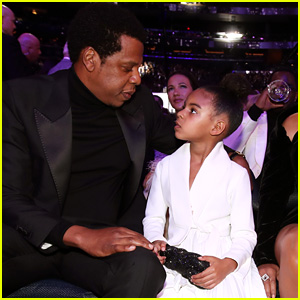 Jay-Z Shares 'The Most Beautiful Thing' Blue Ivy Said to Him While Heading to School