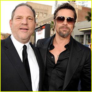 Brad Pitt is Producing a Movie About Harvey Weinstein