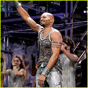 Brandon Victor Dixon Did the 'Wakanda Forever' Sign During 'Jesus Christ Superstar' Curtain Call!