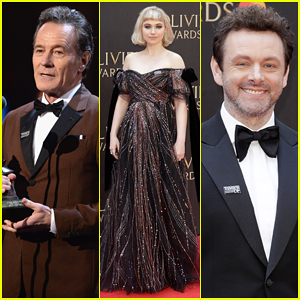 Bryan Cranston, Imogen Poots, Michael Sheen & More Step Out for Olivier Awards 2018!