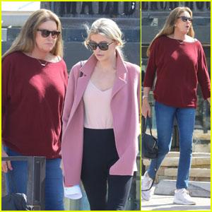 Caitlyn Jenner & Sophia Hutchins Grab Coffee in Malibu Together!