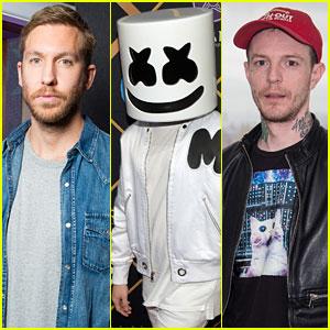 Calvin Harris, Marshmello, & More DJs React to Death of Avicii