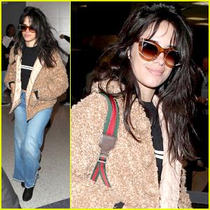 Camila Cabello Hops on Flight To Continue 'Never Be The Same' Tour