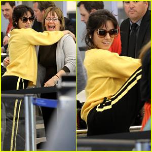 Camila Cabello Trolls the Airport Paparazzi Again - See Pics!