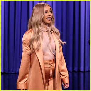 Cardi B Opens Up About Revealing Her Pregnancy on 'SNL'