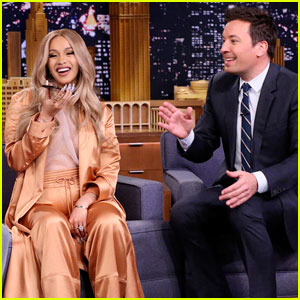 Cardi B Plays Hilarious Game of Box of Lies With Jimmy Fallon - Watch Now!
