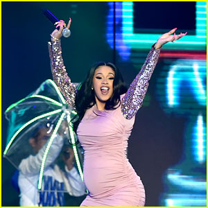 Pregnant Cardi B Slays Her 'La Modelo' Performance at Billboard Latin Music Awards 2018!