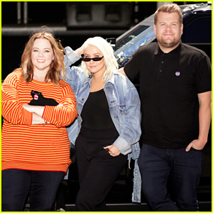 Christina Aguilera Slays 'Carpool Karaoke,' Gets Surprise Visit From Melissa McCarthy - Watch Now!