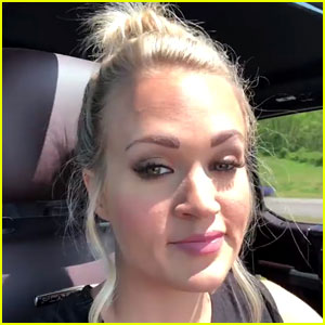 Carrie Underwood Posts Close-Up Video of Face While Having Fun with Husband Mike Fisher