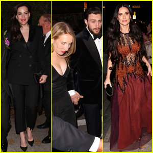 Aaron Taylor Johnson & Wife Sam Join Celebs at Gwyneth Paltrow's Party!