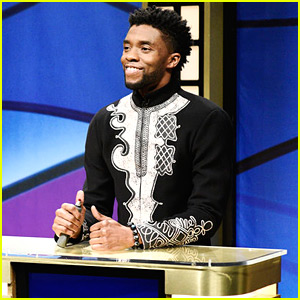 Chadwick Boseman Brings Black Panther to 'Black Jeopardy' on 'SNL' - Watch!
