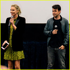 Charlize Theron Surprises Moms at Screening of Her Movie 'Tully'