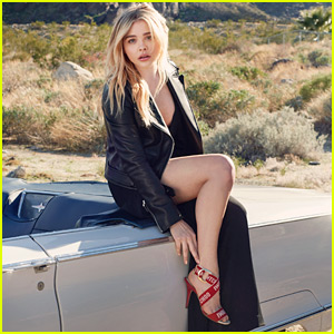 Chloe Moretz Models for Jimmy Choo in Palm Springs!