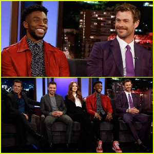 Chris Hemsworth, Chadwick Boseman & More Reveal They Were 'Surprised' By 'Avengers: Infinity War'