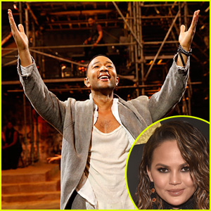 See What Chrissy Teigen Hilariously Wrote to John Legend After 'Jesus Christ Superstar' Performance