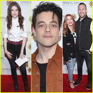 Anna Kendrick, Rami Malek, & Julianne Hough Support City Year at Spring Break Event!