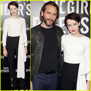 Claire Foy Debuts 'The Girl in the Spider's Web' Preview at CinemaCon 2018!