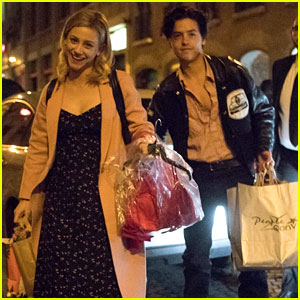 Cole Sprouse & Lili Reinhart Got So Many Gifts from Fans at RiverCon!