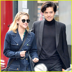 Cole Sprouse & Lili Reinhart Go Sightseeing with 'Riverdale' Cast in Paris