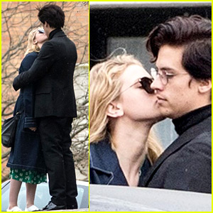 Riverdale's Cole Sprouse & Lili Reinhart Spotted Kissing in Paris!