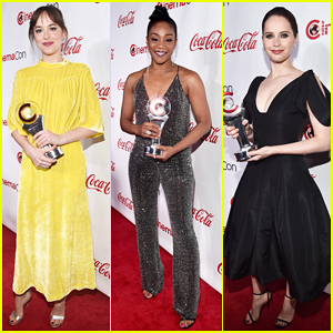 Dakota Johnson, Tiffany Haddish, Felicity Jones & More Win Big at CinemaCon Awards 2018!