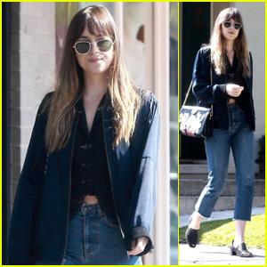 Dakota Johnson Steps Out for a Solo Shopping Trip in LA!
