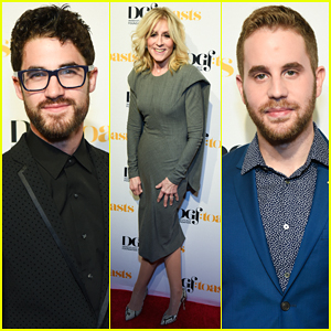 Darren Criss & Ben Platt Toast to Stephen Schwartz at 70th Birthday Celebration Concert!