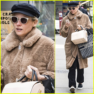 Diane Kruger Bundles Up for Shopping Spree in NYC
