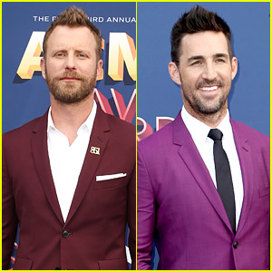 Dierks Bentley & Jake Owen Wear Colorful Suits to ACM Awards