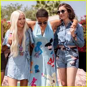Dove Cameron, Rowan Blanchard, & Kiersey Clemons Team Up for Ugg's Coachella Brunch