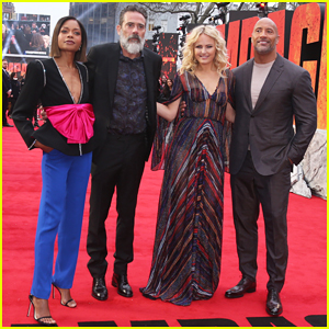 Dwayne Johnson & 'Rampage' Cast Hit London for Big Premiere!