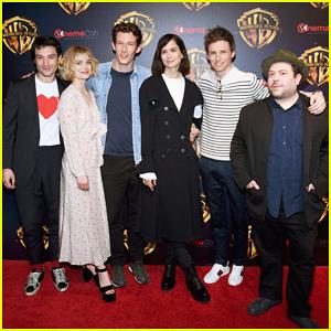 Eddie Redmayne & 'Fantastic Beasts: The Crimes of Grindelwald' Cast Hit CinemaCon 2018!