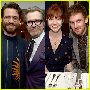 Edgar Ramirez & Dan Stevens Step Out for Dinner Hosted by Gary Oldman!