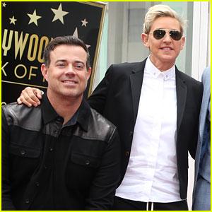 Ellen DeGeneres & Carson Daly Roast *NSYNC During Walk of Fame Ceremony