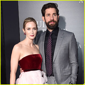 Emily Blunt Reminisces About Falling In Love With John Krasinski!
