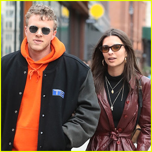 Emily Ratajkowski & New Husband Sebastian Bear-McClard Step Out in NYC!
