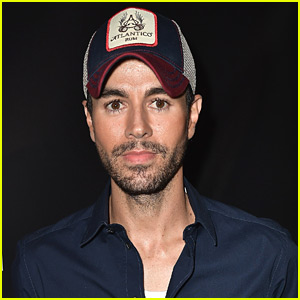 Enrique Iglesias Enjoys 'Game Day' with Twin Babies - See the Photo!