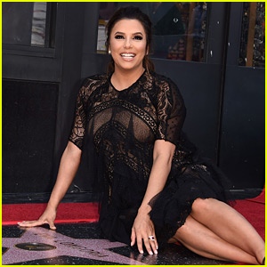 Pregnant Eva Longoria Receives Star on Hollywood Walk of Fame!